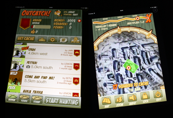 OutCatch! on iPad